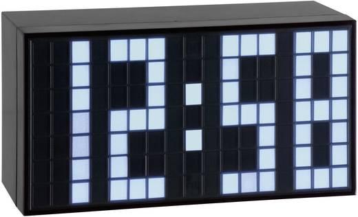 LED világítós digitális ébresztőóra, nagy kijelzővel, 160x84x60 mm, TFA 98.1082.02