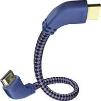 HDMI kábel, HDMI monitorkábel 7m többszörösen árnyékolt kék-szürke Inakustik (0042508) Inakustik