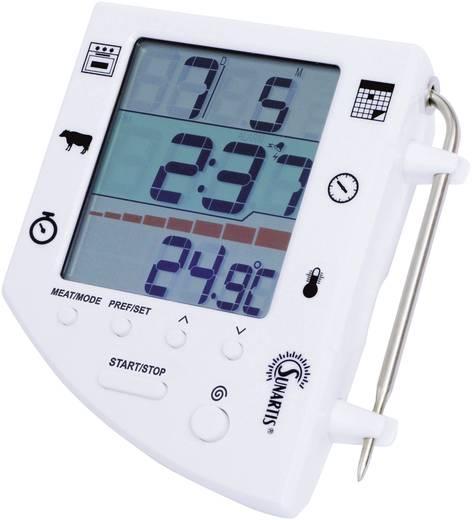 Digitális beszúró sütőhőmérő és húshőmérő, 3 in 4, 0 - 300 °C, Sunartis 5-8000