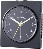 Analóg kvarc ébresztőóra, 75x85x45 mm, fekete, Techno Line Geneva Q Techno Line