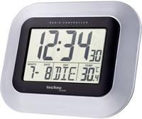 Rádióvezérelt DCF falióra, ébresztőóra beltéri hőmérővel Techno Line WS 8005 Techno Line