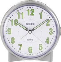 Kvarc ébresztőóra, fluoreszkáló számlappal, ezüst színű Eurochron S139C2 Eurochron