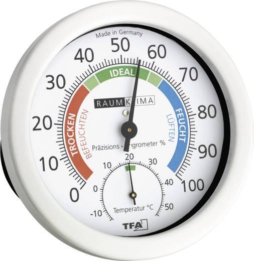 Analóg hőmérő és páratartalom mérő, Ø120 mm TFA 45.2028