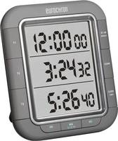 Digitális visszaszámláló óra, időzítő, 3 soros kijelzővel, 103x121x20 mm, Eurochron EDT 9000, KW-9161 Eurochron