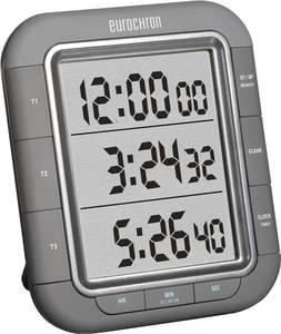 Digitális visszaszámláló óra, időzítő, 3 soros kijelzővel, 103x121x20 mm, Eurochron EDT 9000, KW-9161 (KW-9161) Eurochron