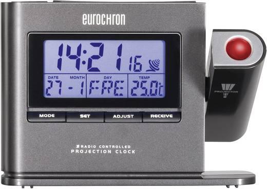 Eurochron EFP 3000 rádiójel vezérelt digitális kivetítős ébresztőóra, 130x94x30 mm