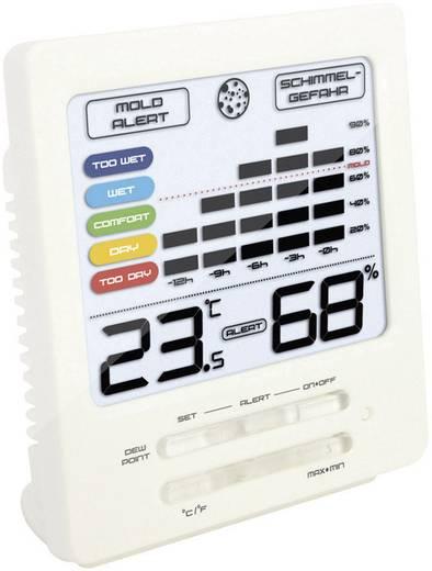 Digitális hőmérő és páratartalom mérő penészesedés riasztással, Techno Line WS 9419