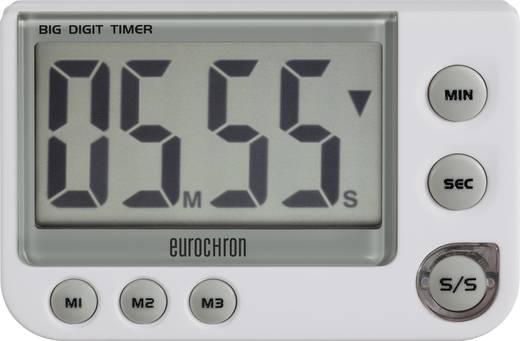 Digitális visszaszámláló óra, időzítő, 91x60x21mm, Eurochron EDT 4000, C5079