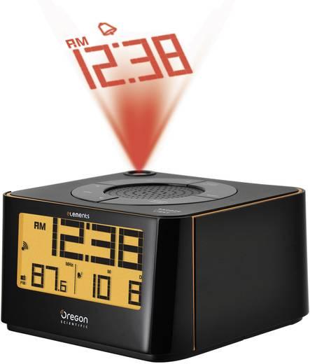 Rádiójel vezérelt digitális kivetítős ébresztőóra, rádióval és természet hangjaival Oregon Scientific EW 103