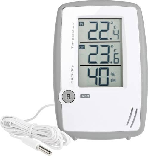 Levegő hőmérséklet és páratartalom mérő, thermmo/hygrométer külső érzékelővel TFA