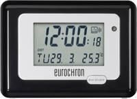 Eurochron EFW 100 Meteotime II rádiójel vezérelt digitális ébresztőóra hőmérővel, 117x84x45 mm, HK 212 Eurochron