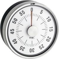 Konyhai időzítő, visszaszámláló óra, mechanikus timer, 60 perces, antracit színű TFA Dostmann Puck 38-1028-10 TFA Dostmann