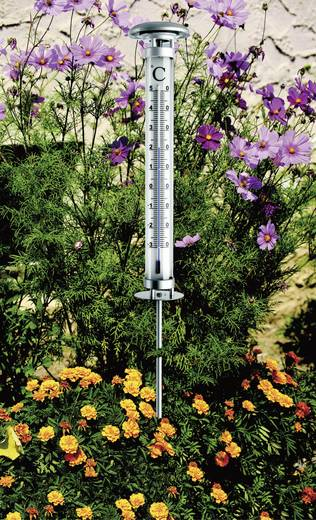 Napelemes leszúrható hagyományos kerti hőmérő, TFA Solino 12.2057