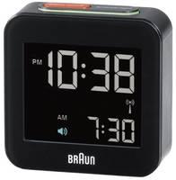 Braun 66015 Rádiójel vezérlésű Ébresztőóra Fekete Braun