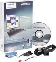 Vezeték nélküli adatgyűjtő, adatlogger, szoftverrel, soros, Davis Instruments Weather Link® (DAV-6510SER) Davis Instruments