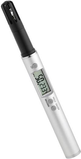 Levegő hőmérséklet és páratartalom mérő, ceruza formájú digitális thermo-higrométer TFA