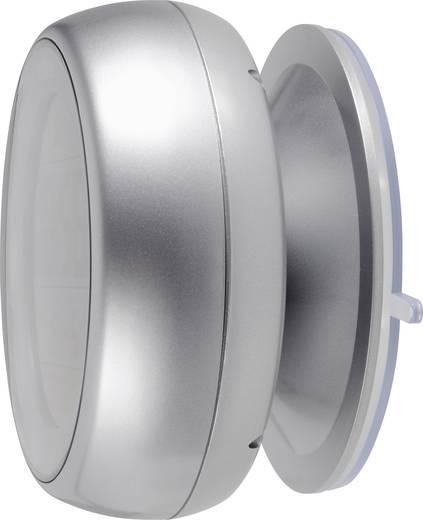 Eurochron EFBU 811 rádiójel vezérelt digitális fürdőszobai ébresztőóra, Ø100x56 mm, C8112