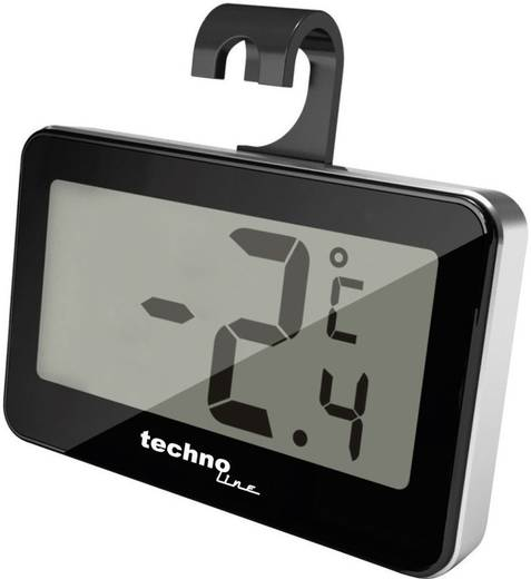 Digitális fagyasztó-/hűtőszekrény hőmérő, -20 - +50 °C, Techno Line WS 7012