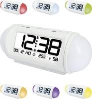 Rádiójel vezérelt digitális ébresztőóra hőmérővel, Wake up Light, 185x75x75 mm, Techno Line WT 499 Techno Line
