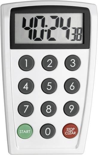 Digitális visszaszámláló óra, időzítő, 66x108x20 mm, TFA 38.2026