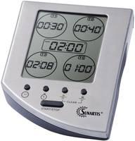 5 zónás visszaszámláló óra, időzítő, 110x85x45 mm, Sunartis EC 341 Sunartis