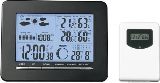 Vezeték nélküli időjárásjelző állomás mini hőmérséklet- és légnedvesség mérővel, S3318P + ETH5500