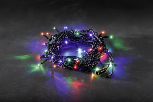 LED-es fényfüzér rendszer, fényfüzér, színes, 24 V, Konstsmide 4650-507