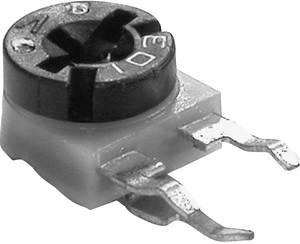 Szénréteg trimmer potméter, TT Electronics AB VA 06/SM063 611030 10 kΩ fekvő 0,1 W ± 30 % AB Elektronik