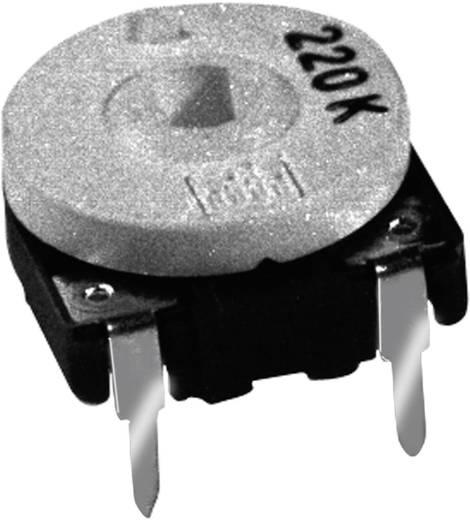 Szénréteg trimmer potméter, TT Electronics AB PCH215/30 21544005 220 kΩ, felül állítható, 0,15 W ± 20 %