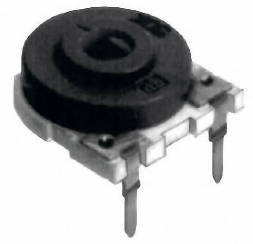 Cermet trimmer potméter, TT Electronics AB HC14 30 2041462305 220 kΩ, felül állítható, 1 W ± 20 %