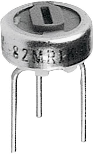 Cermet trimmer potméter, TT Electronics AB 460 2046100201 100 Ω, felül állítható, 0,5 W ± 10 %