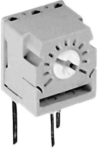 Cermet trimmer potméter, TT Electronics AB 465 2046501400 500 Ω, oldalt állítható, 0,5 W ± 20 %