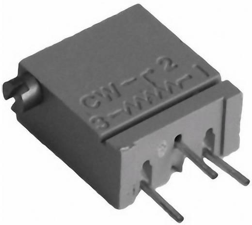 Cermet trimmer potméter, TT Electronics AB 941 2094112505 100 kΩ, oldalt állítható, 0,5 W ± 10 %