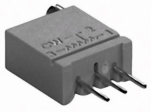Cermet trimmer potméter, TT Electronics AB 943 2094310010 100 Ω, felül állítható, 0,5 W ± 10 %
