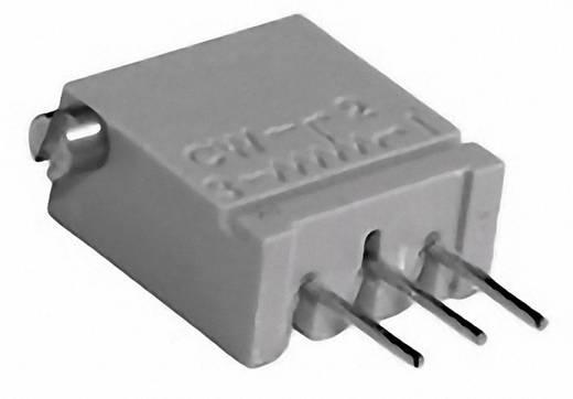 Cermet trimmer potméter, TT Electronics AB 944 2094410306 100 Ω, oldalt állítható, 0,5 W ± 10 %