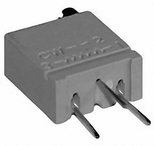 Cermet trimmer potméter, TT Electronics AB 945 2094511001 500 Ω, felül állítható, 0,5 W ± 10 %