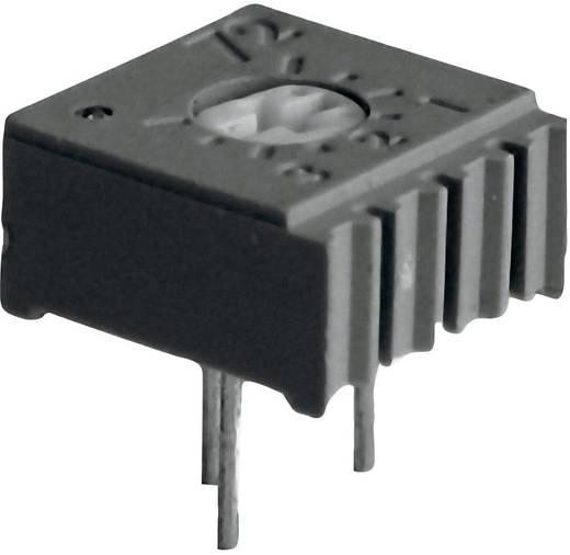 Cermet trimmer potméter, TT Electronics AB 947 2094711905 10 kΩ, felül állítható, 0,5 W ± 10 %