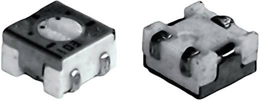 Lineáris, forrfüles SMD trimmer potméter, felső állítással 0.25 W 100 Ω 210 ° TT Electronics AB 2800586025