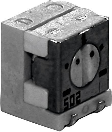 SMD trimmer potméter, lineáris, oldalt állítható, 0,25 W 10 kΩ 210° TT Electronics AB 2800587855