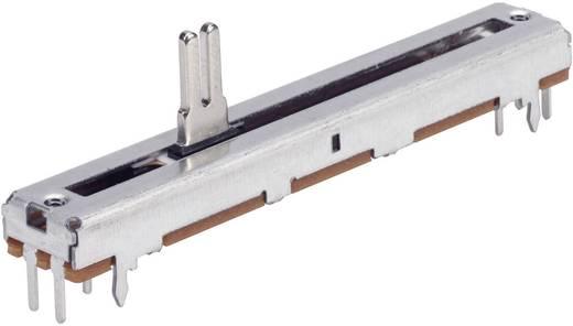 Toló potméter 10 kΩ sztereo 0,25 W lineáris TT Electronics AB PS4520MA1B