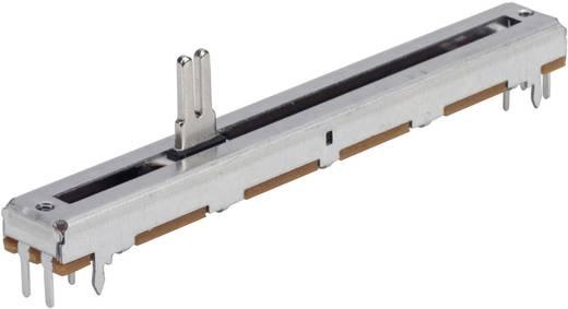 Toló potméter 500 kΩ sztereo 0,2 W lineáris TT Electronics AB PS6020MA1B