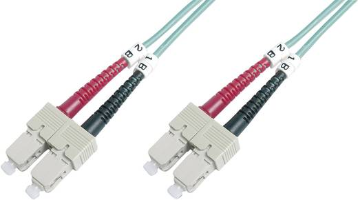 Üvegszál LWL csatlakozókábel 1x dugó - 1x dugó 50/125µ 3 m Multimode OM4 Digitus