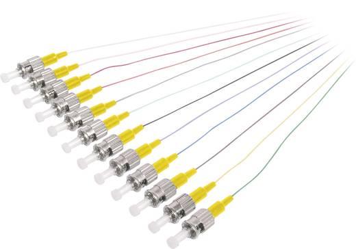 Üvegszál LWL csatlakozókábel Digitus Pigtail dugó / 9/125µ Singlemode OS12 m