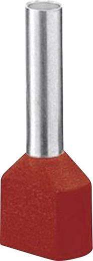 Iker érvéghüvely 8 mm Részlegesen szigetelt Piros Phoenix Contact 3200810 100 db