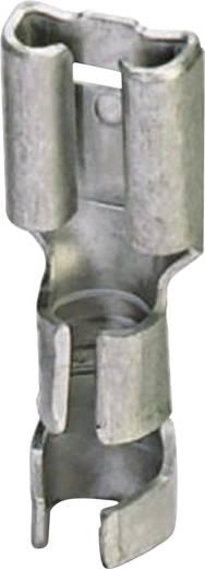 Csúszósarus hüvely, 6,3 mm / 0,8 mm 180° szigeteletlen, fémes Phoenix Contact 3240156 100 db