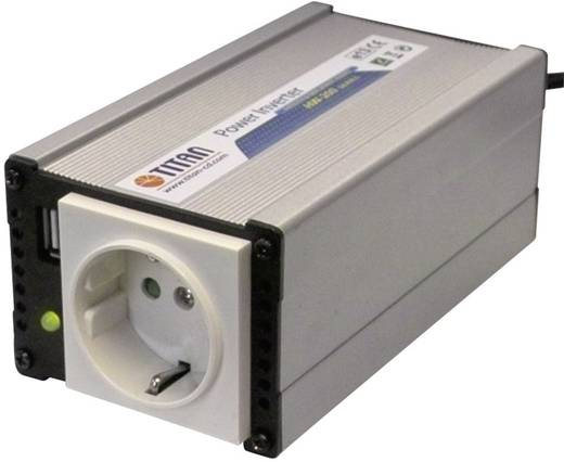 12VDC/230V AC feszültség átalakító inverter 200W Profi Power TITAN