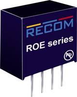 RECOM ROE-0505S DC/DC feszültségváltó, nyák 5 V/DC 5 V/DC 200 mA 1 W Kimenetek száma: 1 x RECOM