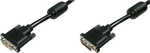 DVI TV, Monitor csatlakozókábel 1x - 1x 10 m Fekete Digitus AK-320200-100-S