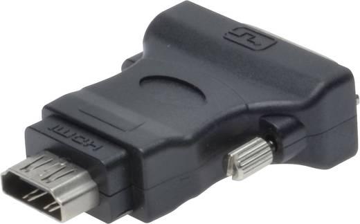 DVI / HDMI adapter [1x DVI dugó 18+1 pólusú => 1x HDMI alj] 0 m, feket, Digitus