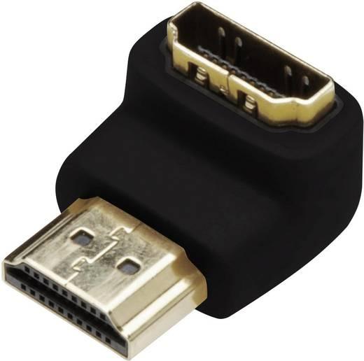 HDMI csatlakozó fordító, könyök dugó adapter Digitus AK-330502-000-S
